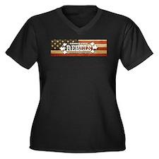 Unique Roller derby birthday Women's Plus Size V-Neck Dark T-Shirt