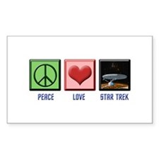 ST: Peace & Love3 Decal