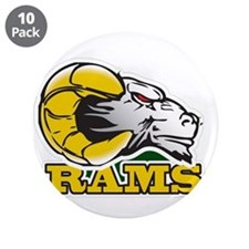 """Funny Pro hockey 3.5"""" Button (10 pack)"""