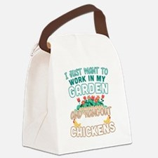 Cute Workaholics Canvas Lunch Bag