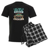 Chicken Men's Dark Pajamas