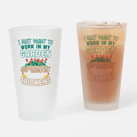 Cute Workaholics Drinking Glass