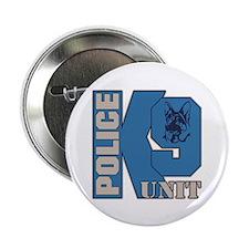 "Police K9 Unit Dog 2.25"" Button (10 pack)"