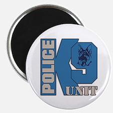 Police K9 Unit Dog Magnet