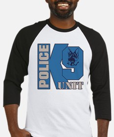 Police K9 Unit Dog Baseball Jersey