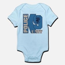 Police K9 Unit Dog Infant Bodysuit