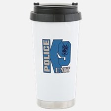 Police K9 Unit Dog Travel Mug