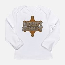 Deputy Sheriff Long Sleeve Infant T-Shirt