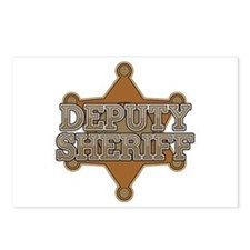 Deputy Sheriff Postcards (Package of 8)