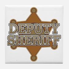 Deputy Sheriff Tile Coaster