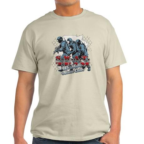 SWAT Team We Make House Calls Light T-Shirt