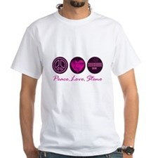 PEACE LOVE STENO Shirt