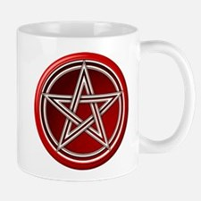 Red Pentacle Mug