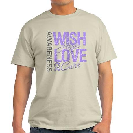 General Cancer Wish Hope Light T-Shirt