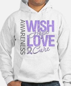General Cancer Wish Hope Jumper Hoody