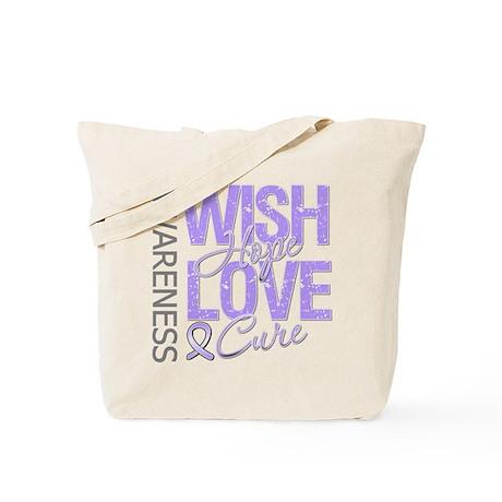 General Cancer Wish Hope Tote Bag