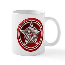 Red Pentacle w/inlay Mug