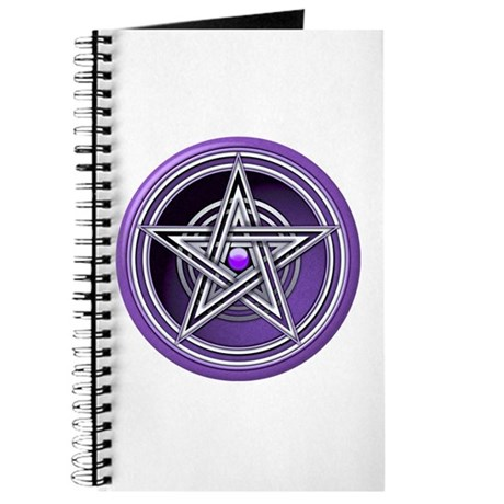 Purple Pentacle w/inlay Journal