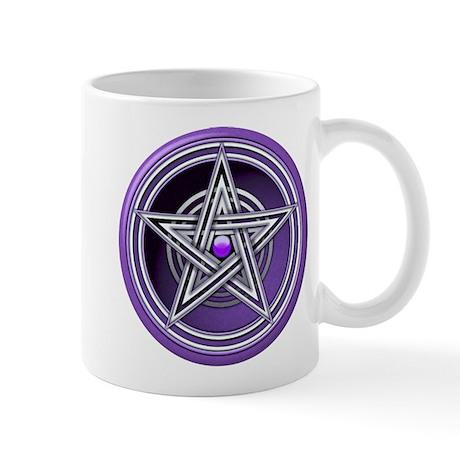 Purple Pentacle w/inlay Mug
