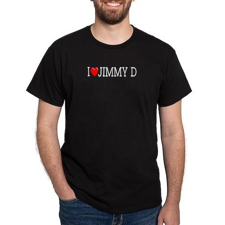 I Love Jimmy D Black T-Shirt