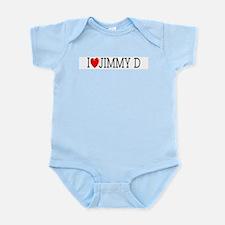 I Love Jimmy D Infant Creeper
