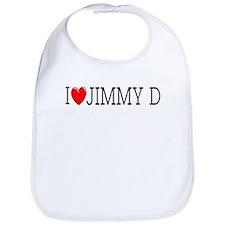 I Love Jimmy D Bib