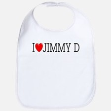 I Love Jimmy D Bib