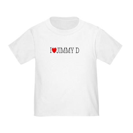 I Love Jimmy D Toddler T-Shirt
