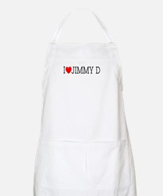 I Love Jimmy D BBQ Apron
