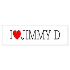 I Love Jimmy D Bumper Bumper Sticker