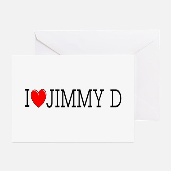 I Love Jimmy D Greeting Cards (Pk of 10)
