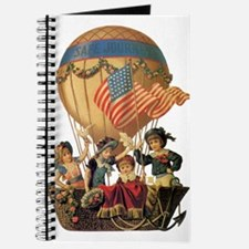 Vintage Patriotic Children Journal