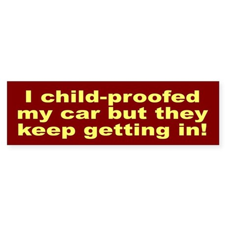 New Funny T-shirts Bumper Sti Sticker (Bumper)
