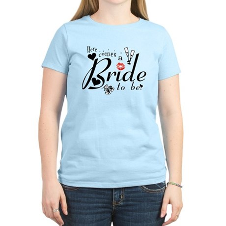 Bride-to-Be Women's Light T-Shirt