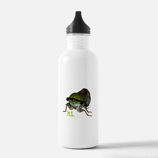 Cicada hi. Water Bottle