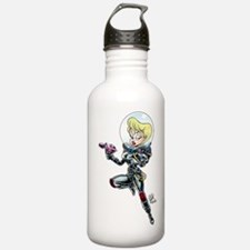 """Space Girl, Rocketina!"" Sports Water Bottle"
