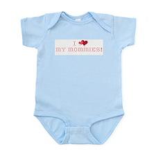 I love my Mommies Infant Bodysuit