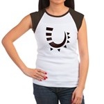 Tribal Hook Women's Cap Sleeve T-Shirt