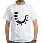 Tribal Hook White T-Shirt