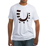 Tribal Hook Fitted T-Shirt