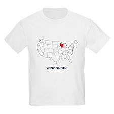 'Wisconsin' T-Shirt