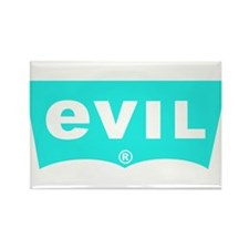 Evil Levis Rectangle Magnet