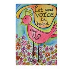 Let Your Voice Be Heard Postcards (Package of 8)