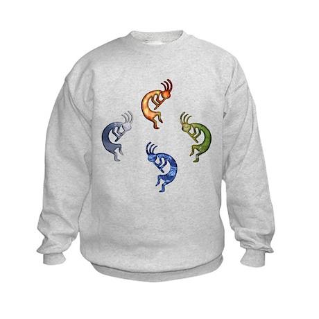 Kokopelli Elemental (Power) Kids Sweatshirt
