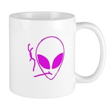 Flying Schwa Small Mugs