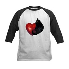Black Cat Heart Tee