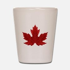 Canadian Maple Leaf Shot Glass