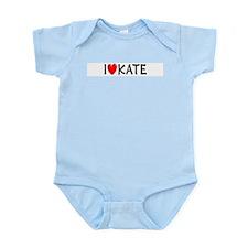 I Love Kate Infant Creeper