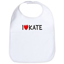 I Love Kate Bib