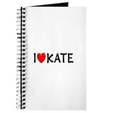 I Love Kate Journal